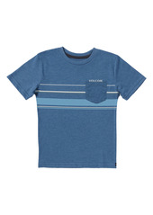 Volcom Kids' Horizontal Liner Stripe Pocket T-Shirt (Toddler & Little Boy)
