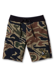Volcom Kids' Covert Mod Board Shorts (Big Boy)