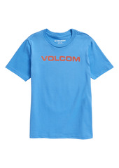 Volcom Kids' Logo Graphic Tee (Toddler & Little Boy)