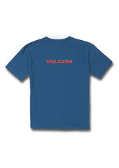 Volcom Kids' Ritz Euro XXX Logo Graphic Tee (Big Boy)