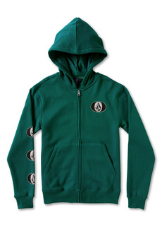 Volcom Kids' Stone Stack Graphic Zip Hoodie (Big Boy)