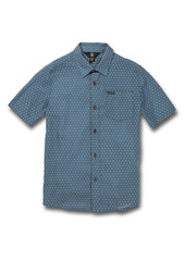 Volcom Milton Dobby Short Sleeve Button-Up Shirt (Big Boy)