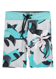 Volcom Mod Tropical Print Board Shorts (Big Boy)