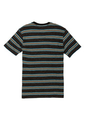 Volcom Moorley Stripe Cotton T-Shirt (Toddler & Little Boy)
