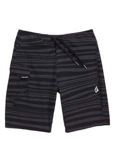 Volcom Stripe Mod Board Shorts (Big Boy)