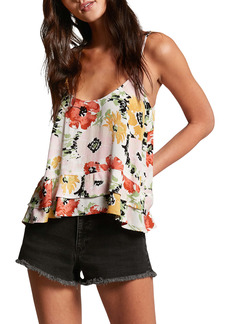 Volcom That's My Type Floral Camisole
