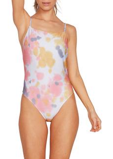 Volcom Tie Dye For One-Piece Swimsuit