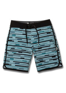 Volcom Treader Scallop Mod-Tech Board Shorts (Toddler & Little Boy)