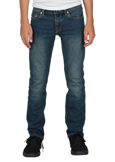 Volcom Vorta Slim Fit Jeans (Big Boy)