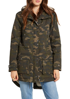 Volcom Walk On by 5K Nuts Hooded Parka with Faux Shearling Lining