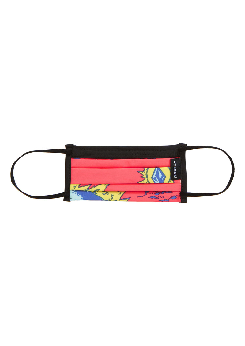Volcom Youth Pleated Face Mask