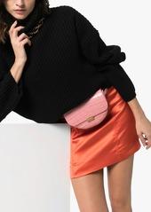 Wandler Anna crocodile-effect belt bag