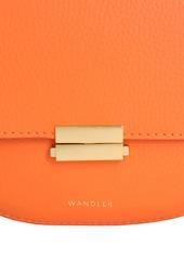 Wandler Anna Grained Leather Shoulder Bag