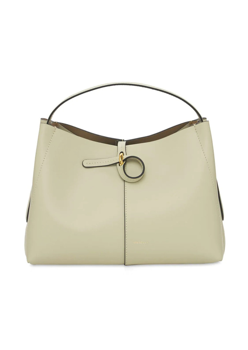 Wandler Ava Mini Leather Top Handle Bag