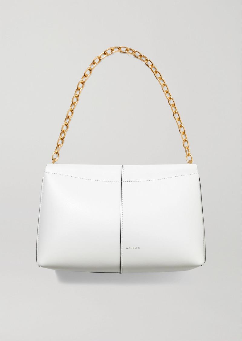 Wandler Carly Mini Leather Shoulder Bag