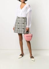Wandler Hortensia Croco Mini tote bag