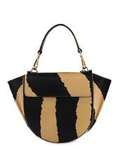 Wandler Hortensia Mini Zebra Print Ponyskin Bag