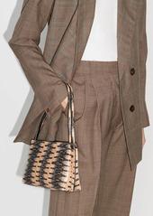 Wandler mini Carly Watersnake shoulder bag