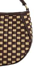 Wandler Mini Corsa Canvas & Leather Tote Bag