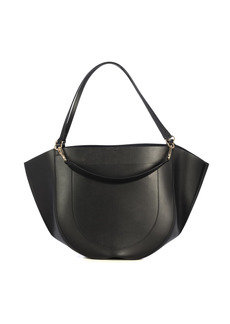 Wandler Double Handle Leather Mia Tote