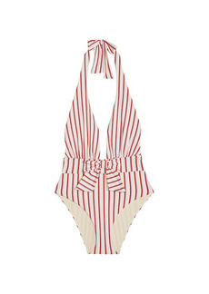 WeWoreWhat Brooklyn Stripe One-Piece Swimsuit
