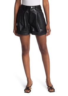 WeWoreWhat Cuffed Solid Shorts