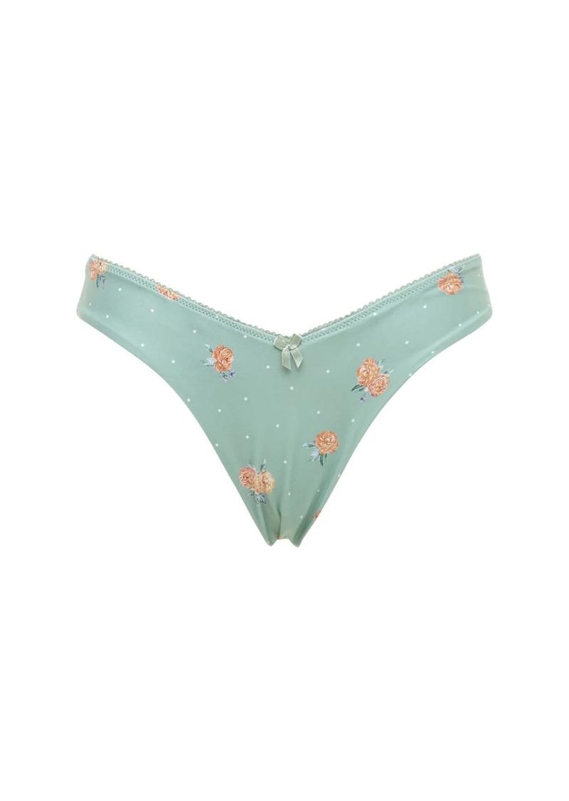 WeWoreWhat Delilah Picot Bikini Bottoms