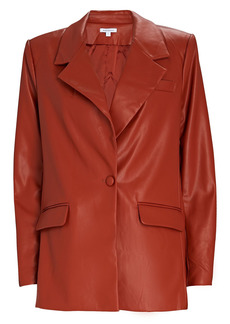 WeWoreWhat Downtown Faux Leather Blazer