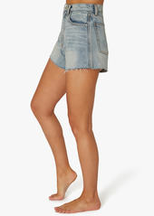 WeWoreWhat High Rise Raw Hem Shorts