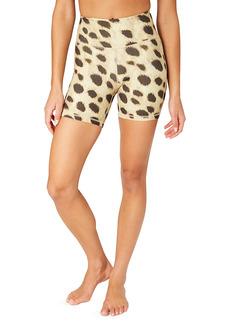 WeWoreWhat Leopard Biker Shorts