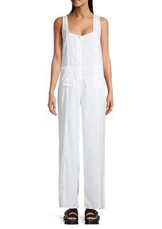 WeWoreWhat Loose-Fit Linen Jumpsuit