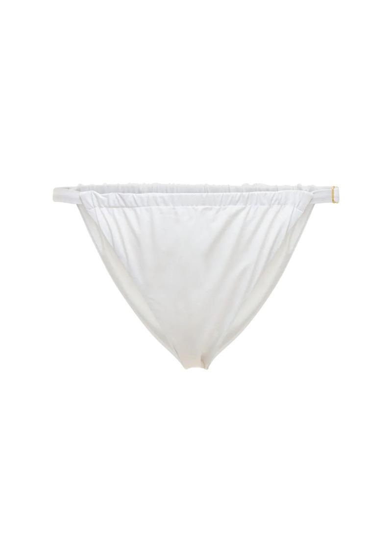 WeWoreWhat Rouche Bikini Bottoms