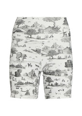WeWoreWhat Toile Biker Shorts