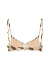 WeWoreWhat Vintage Bikini Top W/ Underwire