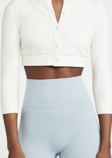 WeWoreWhat Active Cropped Cardigan