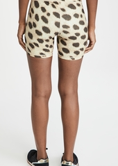 WeWoreWhat Active Leopard Bike Shorts