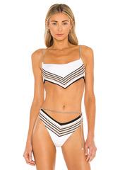 WeWoreWhat Bandana Bikini Top
