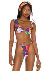WeWoreWhat Claudia Bikini Top
