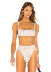 WeWoreWhat Leigh Bikini Top