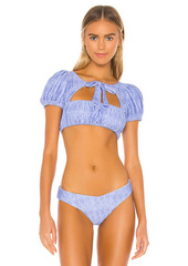 WeWoreWhat Lily Bikini Top