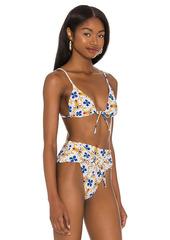 WeWoreWhat Triangle Bikini Top