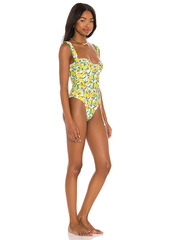 WeWoreWhat Vintage Danielle One Piece With Gold Chain Belt