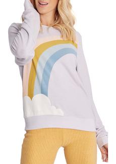 Wildfox Bbj Rainbow Cloud Sweatshirt