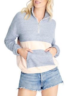 WILDFOX Lea Color Blocked Sweatshirt