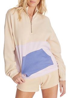 Wildfox Lea Half Zip Pullover