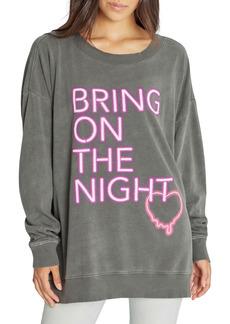 Wildfox Night Creature Graphic Sweatshirt