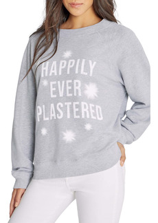 Wildfox Sommers Happily Ever Plastered Sweatshirt