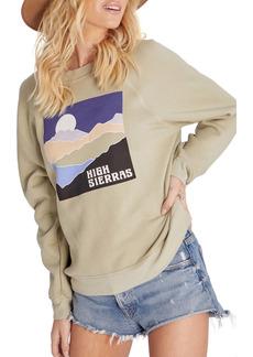 Wildfox Sommers High Sierras Cotton Blend Sweatshirt