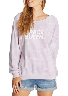 Wildfox Space Queen Sommers Graphic Pullover