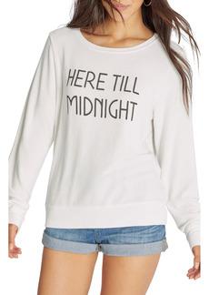 Wildfox Till Midnight Graphic Sweatshirt